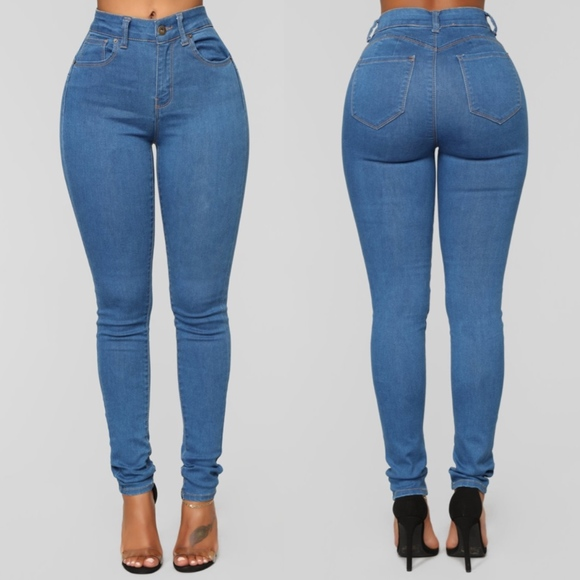 Wax Jean Denim - Fashion Nova Never Call Me High Rise Jeans NWOT